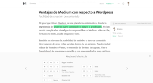 alternativa wordpress medium editor