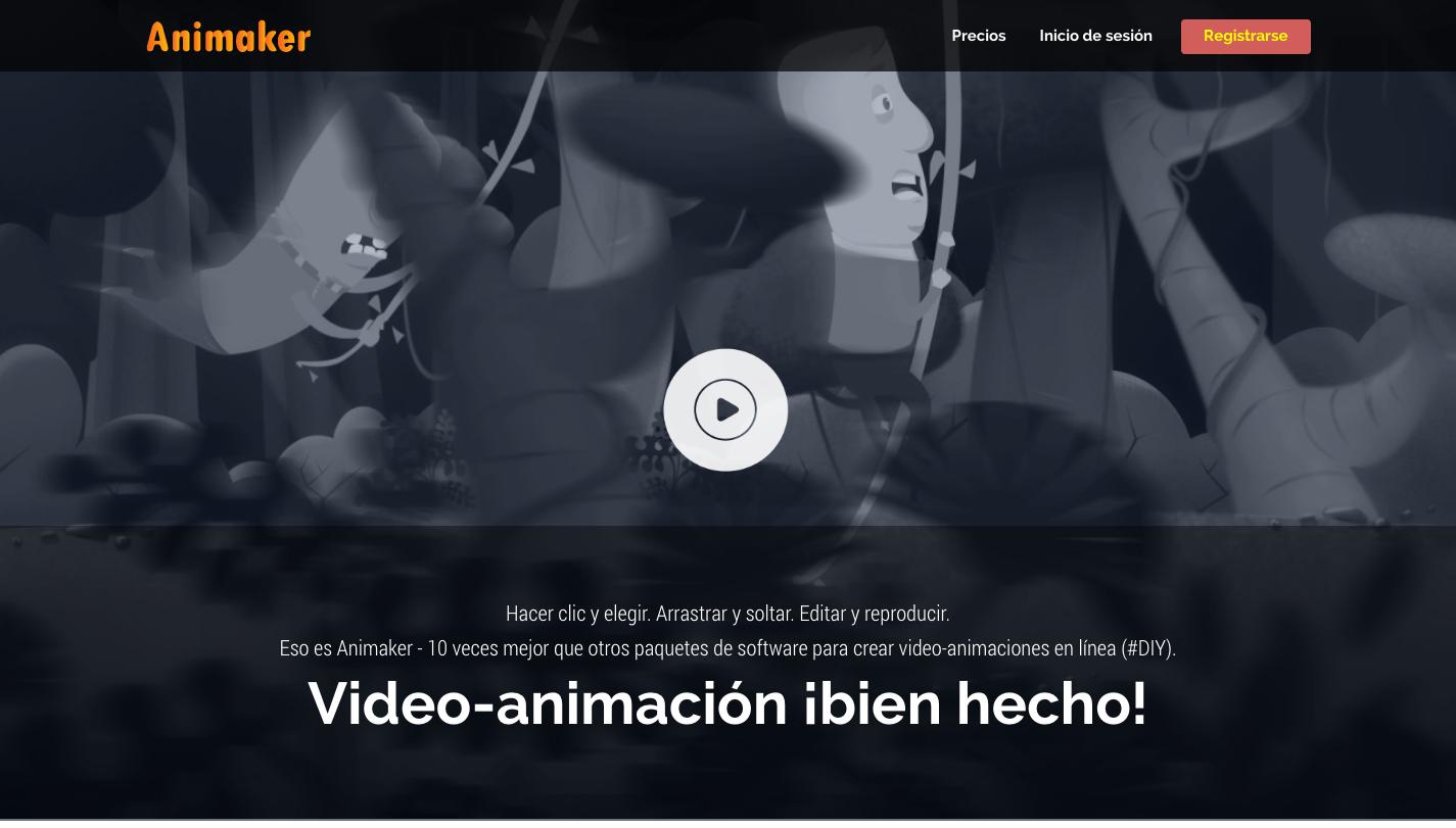 herramientas diseno animaker